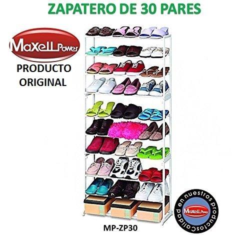 Zapatero de 30 Pares - Estantería Guarda zapatos ®