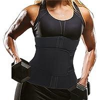 F Fityle Damen Neopren Waist Trainer Sport Unterbrust Korsett Taillentrainer F/ür Gewichtsverlust Shaper Body Tailenmieder