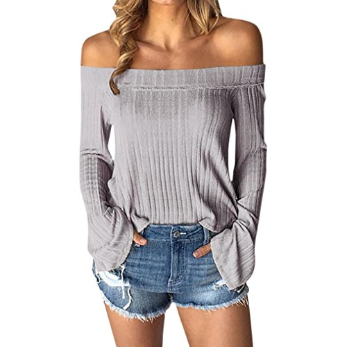 TUDUZ Damen Gestreift Pulli Sweatshirts Hoodie Sport Langarm Reißverschluss Pullover Outerwear