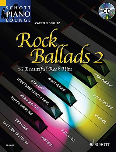 Rock ballads Vol.2 (Arrangements par Gerlitzs Carsten) +CD --- Piano par Compilation