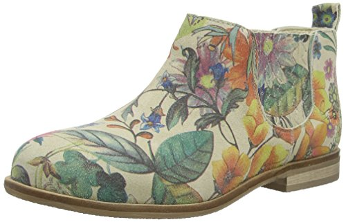 CoolwayNIGEL - Stivaletti a gamba corta mod. Chelsea, imbottitura leggera Donna , Multicolore (Mehrfarbig (FRS)), 39