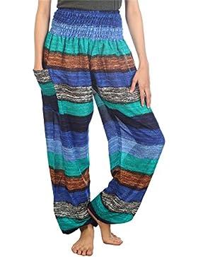 Insignia Mujer Informal Pantalones De Lino Fresco Elastico Espalda Pantalones Con Bolsillos Creeo Com Br