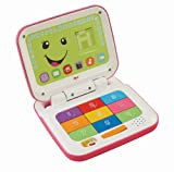 Fisher-Price Laugh & Learn Smart Stages Laptop, Pink/White by Fisher-Price
