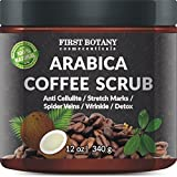 First Botany Cosmeceuticals Scrub al caffè per il corpo 12 once. 1 bottiglia