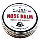 Wild Dog Natural Nase und Schnauze Balm mit Mango-Butter für Crusty Bake Dry Nase, hergestellt in der UK