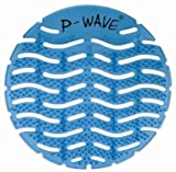 P Wave Scented urinal screen - Ocean Mist Box of 10