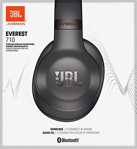 JBL Everest 710 Diadema Binaural Alámbrico/Inalámbrico Gris - Auriculares (Inalámbrico y Alámbrico, Diadema, Binaural, Circumaural, 10-22000 Hz, Gris)