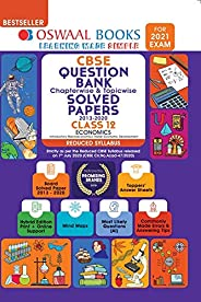 Oswaal CBSE Question Bank Class 12 Economics Chapterwise & Topicwise Solved Papers (Reduced Syllabus) (For