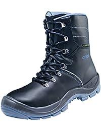 Atlas CX 320 Office zapatos de seguridad con puntera de acero EN ISO 20345 S2 - negro, 43