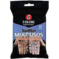 3 EN UNO Profesional 34374 - Pack de 24 toallitas multiusos