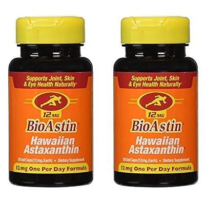 BioAstin, Hawaiian Astaxanthin, 12 mg (100)