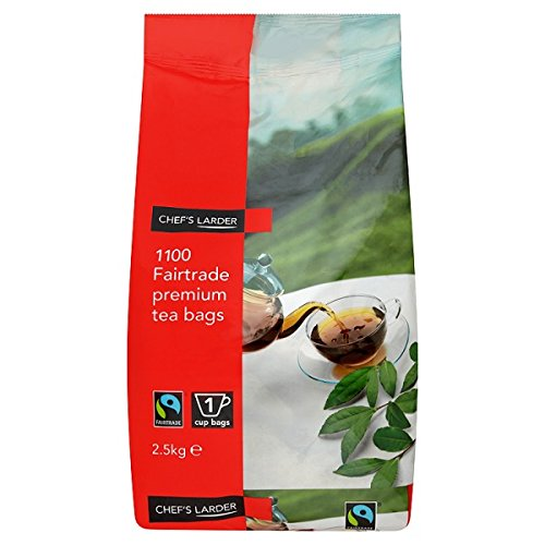 ( 1100s Pack ) Chef's Larder 1100 Fairtrade Premium Tea Bags 2.5kg