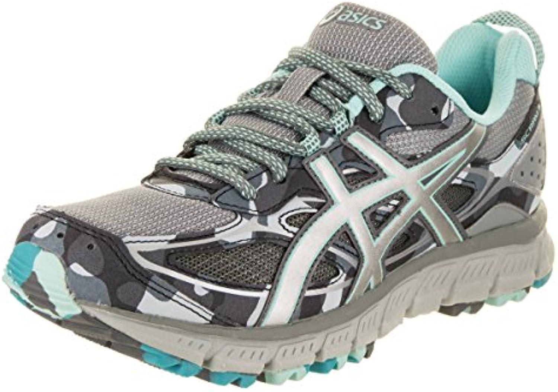 Asics Chaussures Gel-Scram 3 pour Femmes, 43.5 EU, EU, EU, Stone Grey/Silver/Aruba BlueB07171YDZ8Parent | Belle Qualité  245147