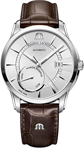 Maurice Lacroix PONTOS POWER RESERVE PT6368-SS001-130-1 Automatic Mens Watch Classic & Simple