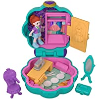 Polly Pocket FRY31 - Tiny Places Schatulle Lilas Schrank