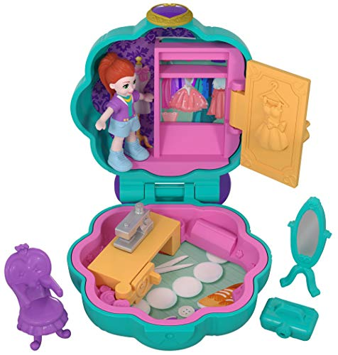 Enthusiastic Polly Pocket Mini Polly´s Roller Spass Scooter 2 Roller Und 3 Figuren Puppen Polly Pocket