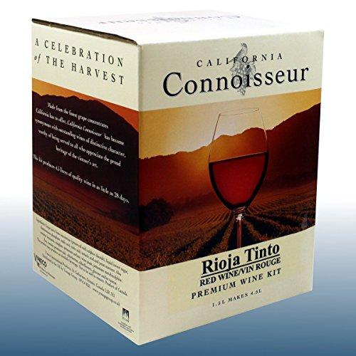 Homebrew & Wine Making - Wine Ingredient Kit - California Connoisseur - Rojo Tinto 6 Bottle