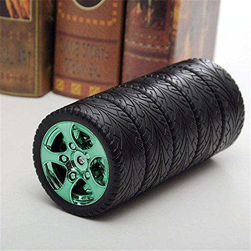 soleditm, 1Stück, 320ml, Farbe, kreativ, Thermos-Flasche, für Kaffeetasse, aus Edelstahl, grün