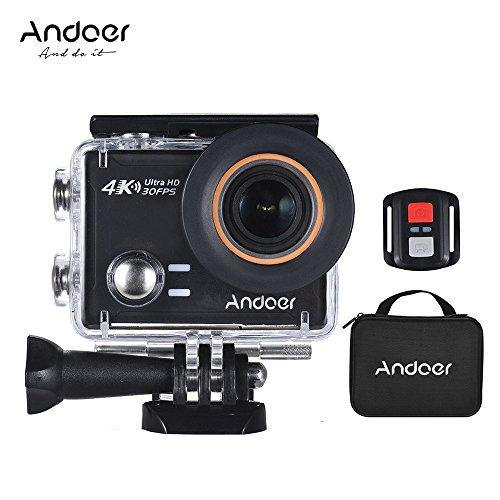 Andoer an100 4k wifi azione sportiva fotocamera 30mp 1080p / 120fps 2.0