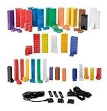 Light Stax Standard Maxi Set / 360 LED-Bausteine / Bauen und Spielen mit leuchtenden Bausteinen / mit LEGO Steinen kompatibel / ab 4 Jahre