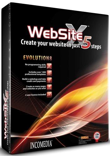 WebSite X5 Evolution 8 (PC CD)