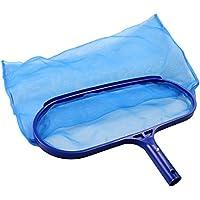 TedGem Recogehojas para Piscinas, Pool Net Leaf Skimmer, Red para Piscinas de Plástico Resistente Profunda para Recoger Hojas