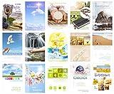 Set 15 Kommunionskarten mit Umschlag -