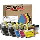OBV 5X kompatible Druckerpatrone ersetzt Brother LC-3219XL für Brother MFC-J5330DW MFC-J5335DW MFC-J5730DW MFC-J5930DW MFC-J6530DW MFC-J6930DW MFC-J6935DW 2X schwarz,je 1x Cyan, Magenta, gelb
