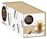 NESCAFÉ Dolce Gusto Cortado Espresso Macchiato, Kaffeekapseln, Robusta und Arabica Bohnen, Spanischer Milchkaffee, Ein Hauch Cremigkeit, Aromaversiegelte Kapseln, 3er Pack (48 Kapseln) 302,4g