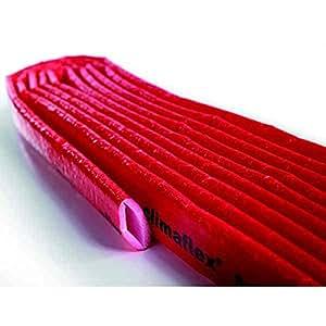 """Tuyau de protection """"Lomma"""", (Gaine isolante pour le chauffage, 18 x 4 mm), 10 mètre de long"""