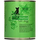 Catz finefood Katzenfutter No.23 Rind und Ente 800 g, 6er Pack (6 x 800 g)