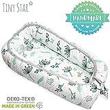 TinyStar: Multifunktionales Babynest Nestchen, Reisebett Für Baby 2 - seitig Kuschelnest 0-6 Monate