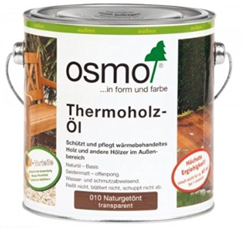 Price comparison product image Osmo Decking Oil Thermowood 010 2.5L