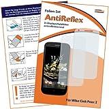 2 x mumbi Displayschutzfolie Wiko CINK PEAX 2 Schutzfolie AntiReflex matt