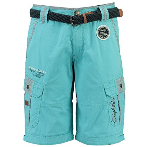Parasha men Shorts Bermudashorts von Geographical Norway Turquoise