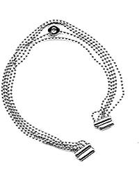 Calvin Klein Pulsera de acero de las señoras Pequeño determinado del diamante