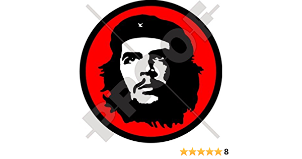 Che Guevara Revolutionist 10 2 Cm 100 Mm Vinyl Bumper Aufkleber Aufkleber Garten