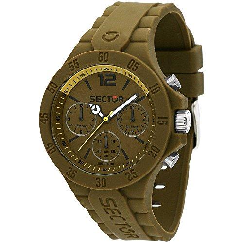 Sector reloj multifunción SteelTouch R3251576014 verde de hombre