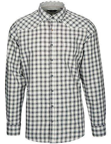 Basefield Herren Freizeithemd Modern Fit - Karo Grey (219011400) 802 GREY