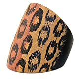 Anillo Animal Print 27 mm fabricado con madera por Joe Cool