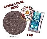 Mantovani Pet Diffusion Gravilla Bios Arena Color Negro-5kg