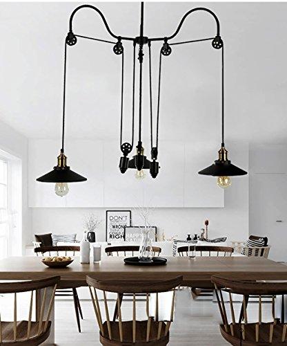 Lampadari a soffitto retro ferro 3 teste lampadario for Lampadari per studio