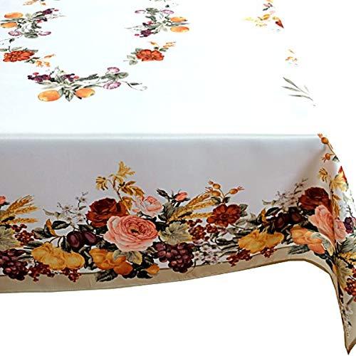 legeleicht Tischtuch Decke Rosendecke Herbst Druckdecke 130x170 cm ()