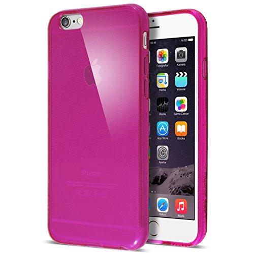 Case BuddyTM Coque de protection en gel transparente et film de protection d'écran pour iPhone 5S5 rose