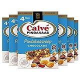 Calvé Chocolade Snackreep 6 x 4 repen Voordeelverpakking