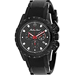 Mathey-Tissot Classic Reloj cuarzo 43mm color negro caja de H466CHN