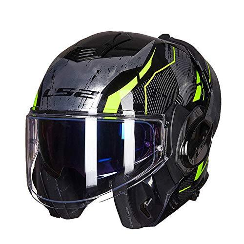 Kinder Kostüm Magneto - Helm Full Face Motorradhelm Anti-Fog-Patch nach dem Sturzhelm 14 XL
