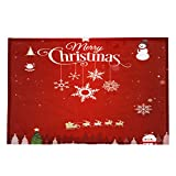 Schlafzimmer Matte Mat Frohe Weihnachten Matte Schöne Willkommen Fußmatten Indoor Brief Drucken Home Teppiche Decor Boden Aufkleber 40x120CM Moonuy