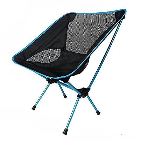 Camping Chair, Kingcenton Outdoor Picnic Fishing Camping Folding Chairs Ultralight Portable Lightweight Foldable for Camping Hiking Sporting