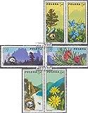 Prophila Collection Polonia 2370-2375 Parejas (Completa.edición.) 1975 Turismo en Polonia (Sellos para los coleccionistas)